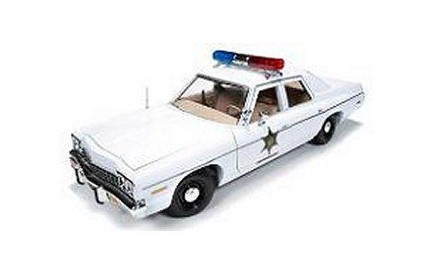 1975 ダッジ モナコ Police 「Dukes of Hazard」 爆発!デューク劇中車 (1/18 アメリカンマッスルAWSS107)