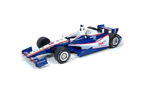 INDY CAR 2014 AAA No3 /Penske Helio Castroneves パープル (1/24 オートワールドINDY7187)