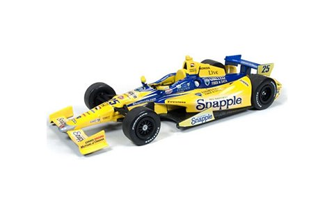 INDY CAR 2014 Snapple No25 /Andretti AS Marco Andretti イエロー (1/24 オートワールドINDY7193)