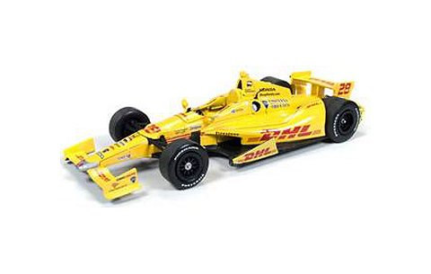 INDY CAR 2014 DHL No28 /Andretti AS Ryan Hunter イエロー (1/24 オートワールドINDY7195)
