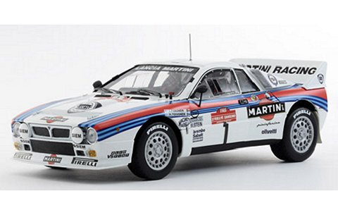 ランチア 037 ラリー マルティニ 1985 サンレモ No1 (1/18 京商K08302C)