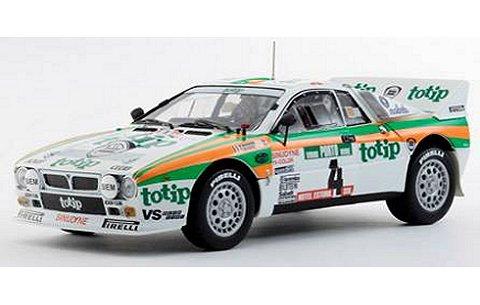 ランチア 037 ラリー Totip 1985 ポルトガル No4 (1/18 京商K08302E)