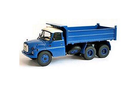 タトラ T 148 S3 3-Seiten-Kipper ブルー (1/43 プレミアムクラシックスPCS12801)