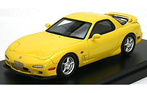 マツダ アンフィニ RX-7 タイプR 1991 コンペティションイエローマイカ (1/43 ハイストーリーHS083YE)