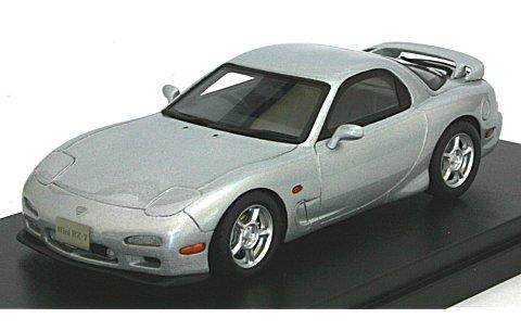 マツダ アンフィニ RX-7 タイプR 1991 シルバーストーンM (1/43 ハイストーリーHS083SL)