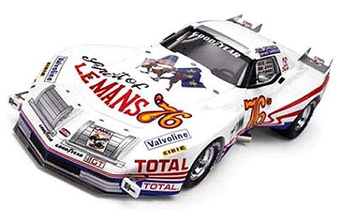 1976 シボレー コルベット 「Spirt of Le Mans」 グリーンウッド No76 (1/18 トゥルースケールミニチュアズTSM111810R)