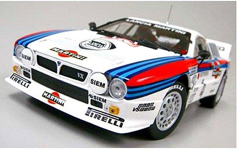 ランチア 037 ラリー マルティニ 1985 モンテカルロ No4 (1/18 京商KS08302D)