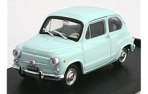 フィアット 600D ベルリナ 1965 ライトブルー (1/43 ブルムR349-03)