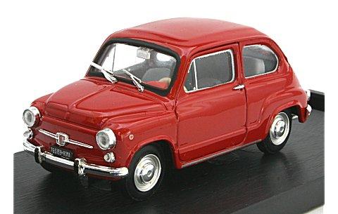 フィアット 600D ベルリナ 1965 レッド (1/43 ブルムR349-07)
