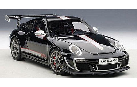 ポルシェ 911 (997) GT3RS 4.0 ブラック (1/18 オートアート78146)