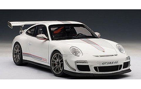 ポルシェ 911 (997) GT3RS 4.0 ホワイト (1/18 オートアート78147)