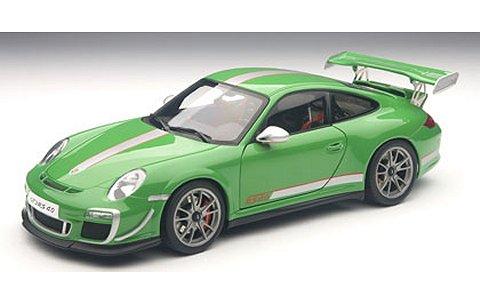 ポルシェ 911 (997) GT3RS 4.0 グリーン (1/18 オートアート78149)