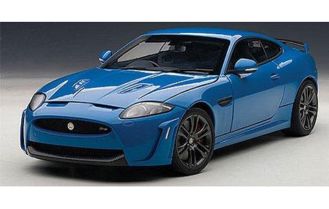 ジャガー XKR-S フレンチレーシングブルー (1/18 オートアート73641)