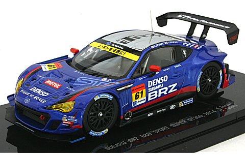 スバル BRZ R&D スポーツ スーパーGT300 2014 No61 (1/43 エブロ45084)
