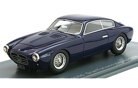 マセラティ A6G 2000 ザガート 1954 ダークブルー (1/43 ネオNEO45647)