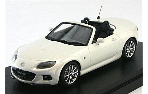マツダ ロードスター RS 2013 クリスタルホワイトパールマイカ (1/43 ハイストーリーHS086WH)