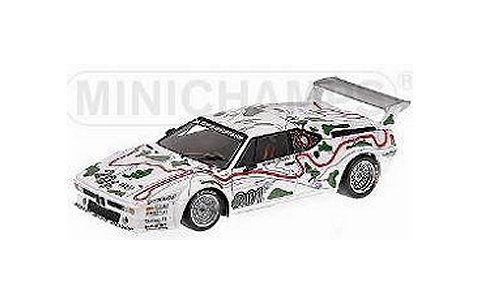 BMW M1 「BMW MOTORSPORT」 STUCK/PIQUET ADAC 1000km 1980 3位 (1/18 ミニチャンプス180802901)