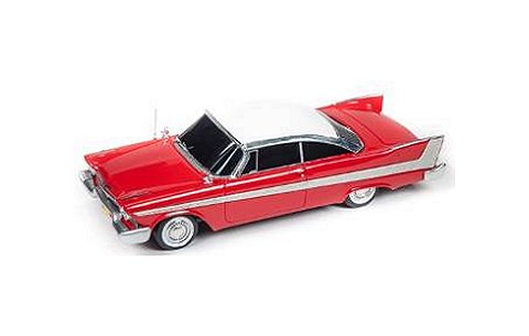 1958 Plymouth Fury 「Christine」 クリスティーン劇中車 (1/18 アメリカンマッスルAWSS108)