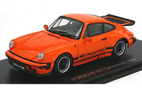 ポルシェ 911 カレラ 3.2 オレンジ (1/43 京商KS05522P)