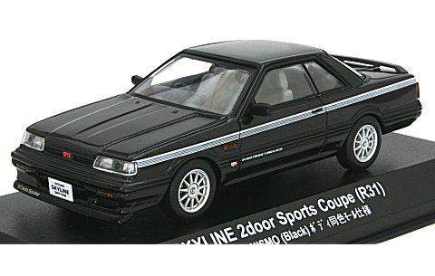 ニッサン スカイライン GTS NISMO (R31) ブラック (1/43 京商KS03707NBK)