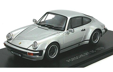 ポルシェ 911 SC シルバー (1/43 京商KS05523S)