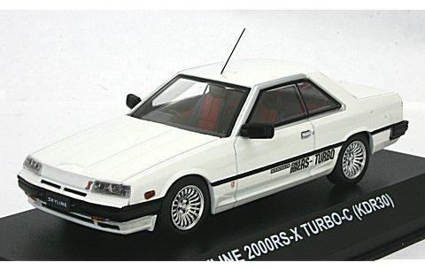 ニッサン スカイライン 2000 RS-X ターボ C (KDR30) ホワイト (1/43 京商KS03601W)