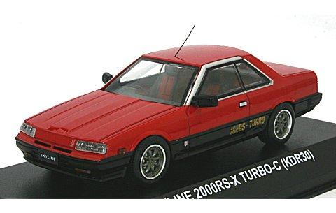 ニッサン スカイライン 2000 RS-X ターボ C (KDR30) レッド8スポークホイル (1/43 京商KS03601RG)