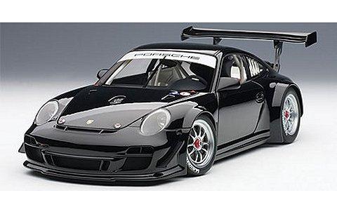 ポルシェ 911 (997) GT3 R 2010 プレーンボディ ブラック (1/18 オートアート81071)