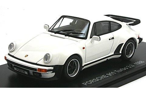 ポルシェ 911 ターボ 3.3 ホワイト (1/43 京商KS05525W)