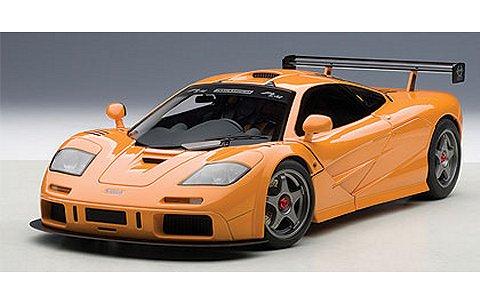 マクラーレン F1 LM オレンジ (1/18 オートアート76011)
