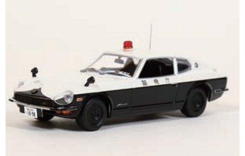 ニッサン フェアレディ Z 2by2 (GS30) 1974 警視庁高速道路交通警察隊車両 (高速32) (1/43 レイズH7437401)