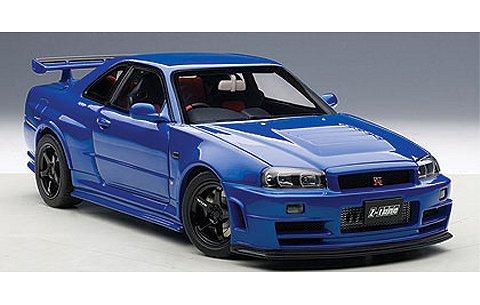 ニスモ R34 GT-R Z-tune ベイサイドブルー (1/18 オートアート77354)