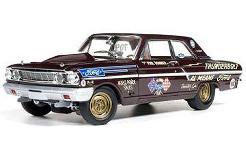 1964 フォード サンダーボルト Phil Bonner (1/18 アメリカンマッスルAW219)