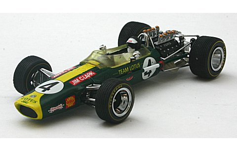 ロータス 49 No4 Jim Clark (Winner South AfricaGP 1968) (1/43 ビテス27801)