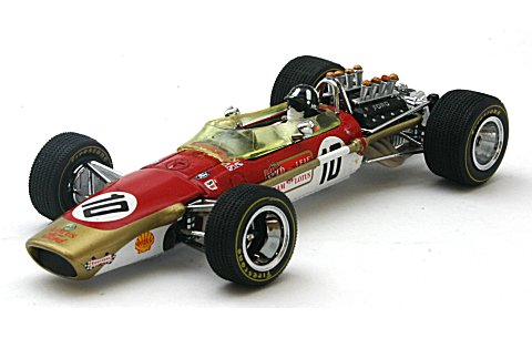 ロータス 49 No10 Graham Hill (Winner SpanishGP 1968) (1/43 ビテス27802)