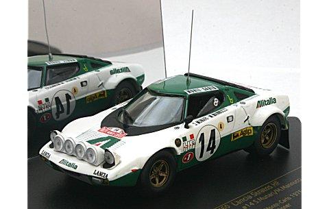ランチア ストラトス HF ラリー No14 S.munari/M.Mannucci (Winner Rallye MonteCarlo 1975) (1/43 ビテス42460)