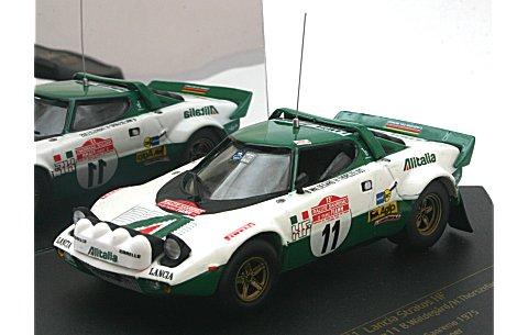 ランチア ストラトス HF ラリー No11 B.Waldegard/H.Thorszelius (Winner Rallye Sanremo 1975) (1/43 ビテス42461)
