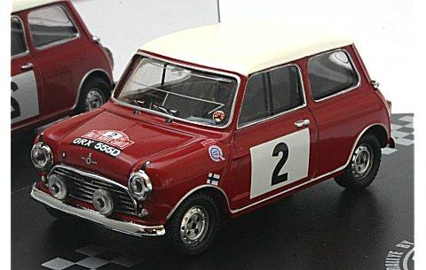 モーリス クーパー S No2 T.Makinen/P.Easter (Rallye MonteCarlo 1966) (1/43 ビテス43336)