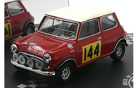 モーリス クーパー S No144 T.Makinen/P.Easter (Rallye MonteCarlo 1967) (1/43 ビテス43337)