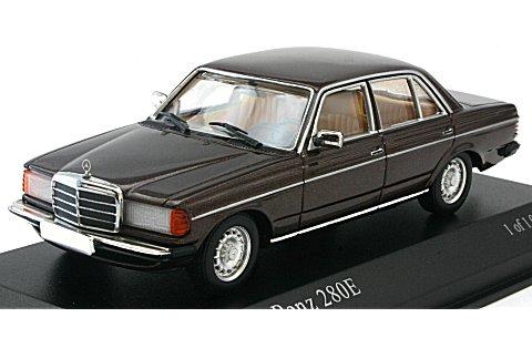 メルセデスベンツ 280E (W123) 1976 ブラウンM (1/43 ミニチャンプス430032209)