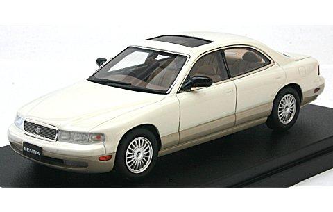 マツダ センティア 30 リミテッド G 1991 シグナスホワイト (1/43 ハイストーリーHS098WH)