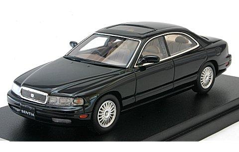 マツダ センティア 30 リミテッド G 1991 ブリリアントブラック (1/43 ハイストーリーHS098BK)