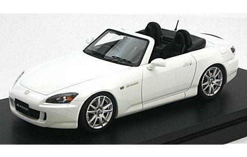 ホンダ S2000 (AP1) グランプリホワイト (1/43 マーク43 PM4310W)