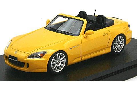 ホンダ S2000 (AP1) ニューインディーイエローパール (1/43 マーク43 PM4310Y)