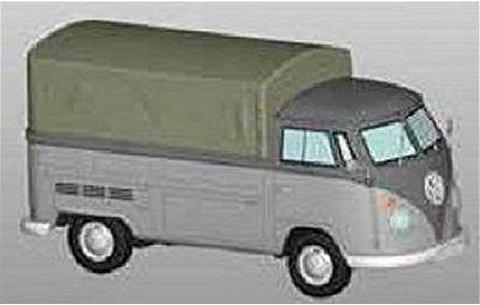 フォルクスワーゲン T1 ピックアップトラック グレー (1/43 プレミアムクラシックスPCS13900)