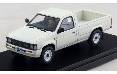 ニッサン ダットサン トラック ロングボデーAD 1985 ホワイト (1/43 ハイストーリーHS097WH)