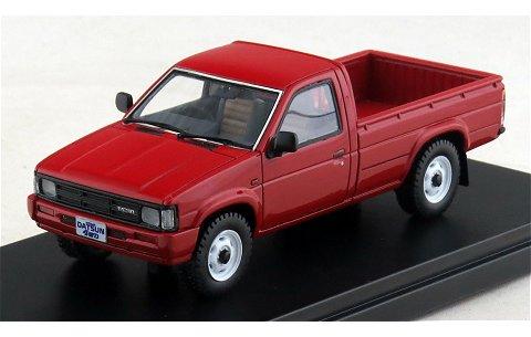 ニッサン ダットサン トラック ロングボデーAD 1985 レッド (1/43 ハイストーリーHS097RE)