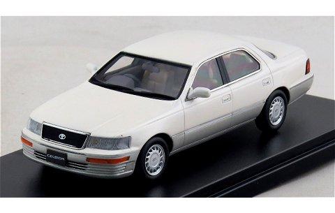 トヨタ セルシオ C-TYPE 1989 ホワイトパールマイカトーニングG (1/43 ハイストーリーHS101WH)