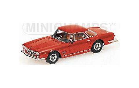 マセラティ 5000 GT Allemano 1962 レッド (1/43 ミニチャンプス437123321)