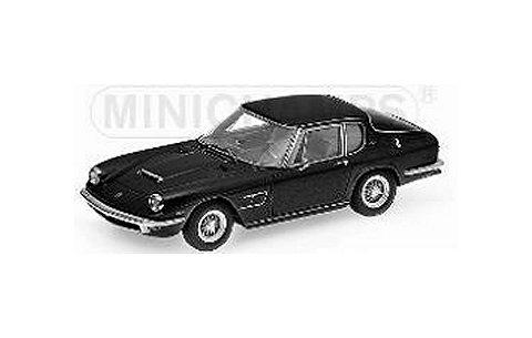 マセラティ ミストラル クーペ 1963 ブラック (1/43 ミニチャンプス437123421)